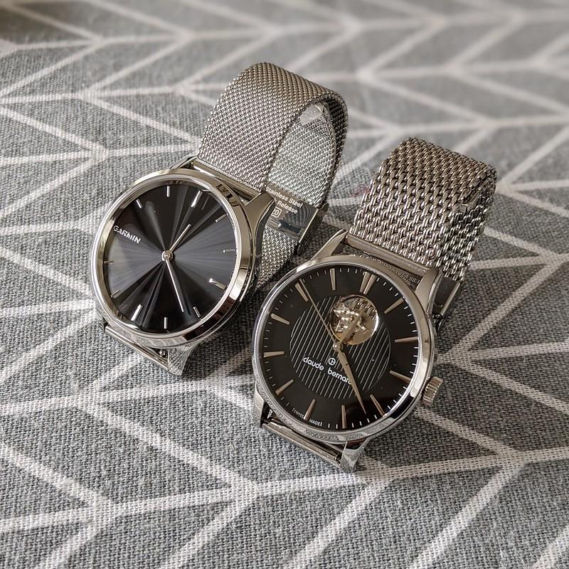 GARMIN vívomove Luxeとアナログ時計