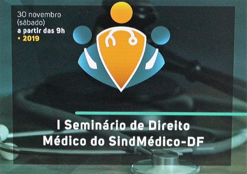 I Seminário de Direito Médico do SindMédico-DF