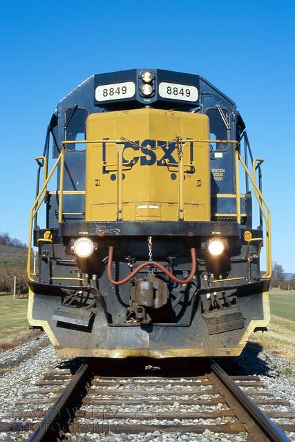SD40-2 8849 At Fairfield
