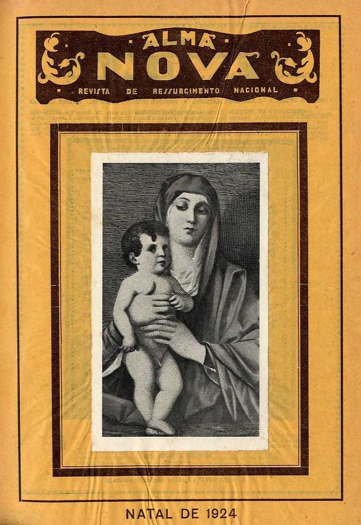 Capa de revista antiga | old magazine cover | edição de Natal | Christmas edition | 1924