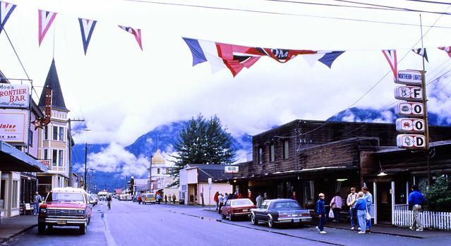 Skagway, Alaska, 1987