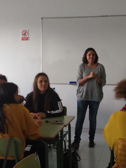 2019.11.29.- Taller de coaching con María del Mar Cañado