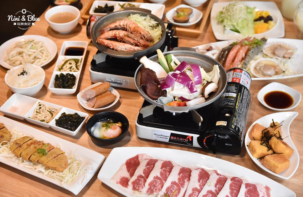 黑川 菜單 價位台中壽喜燒 板燒 定食 勤美草悟道美村路美食26