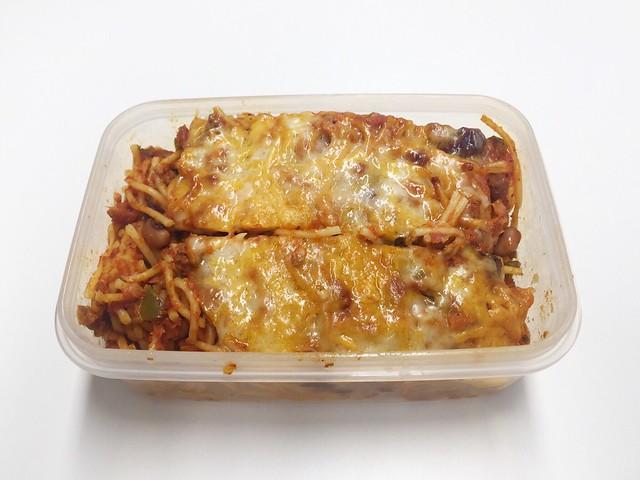 Mincemeat pasta bake - Leftovers / Hackfleisch-Nudelauflauf - Resteverbrauch