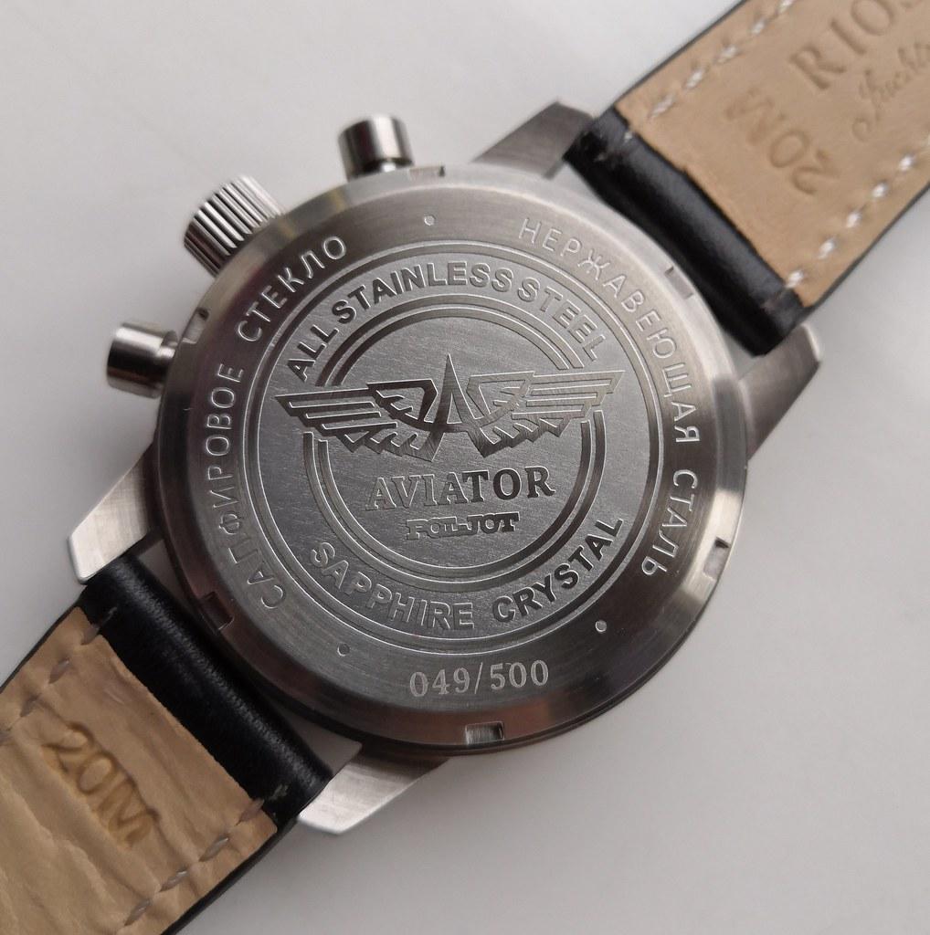 40mm Poljot Aviator I Chronograph (Cal Poljot 3133) (3)