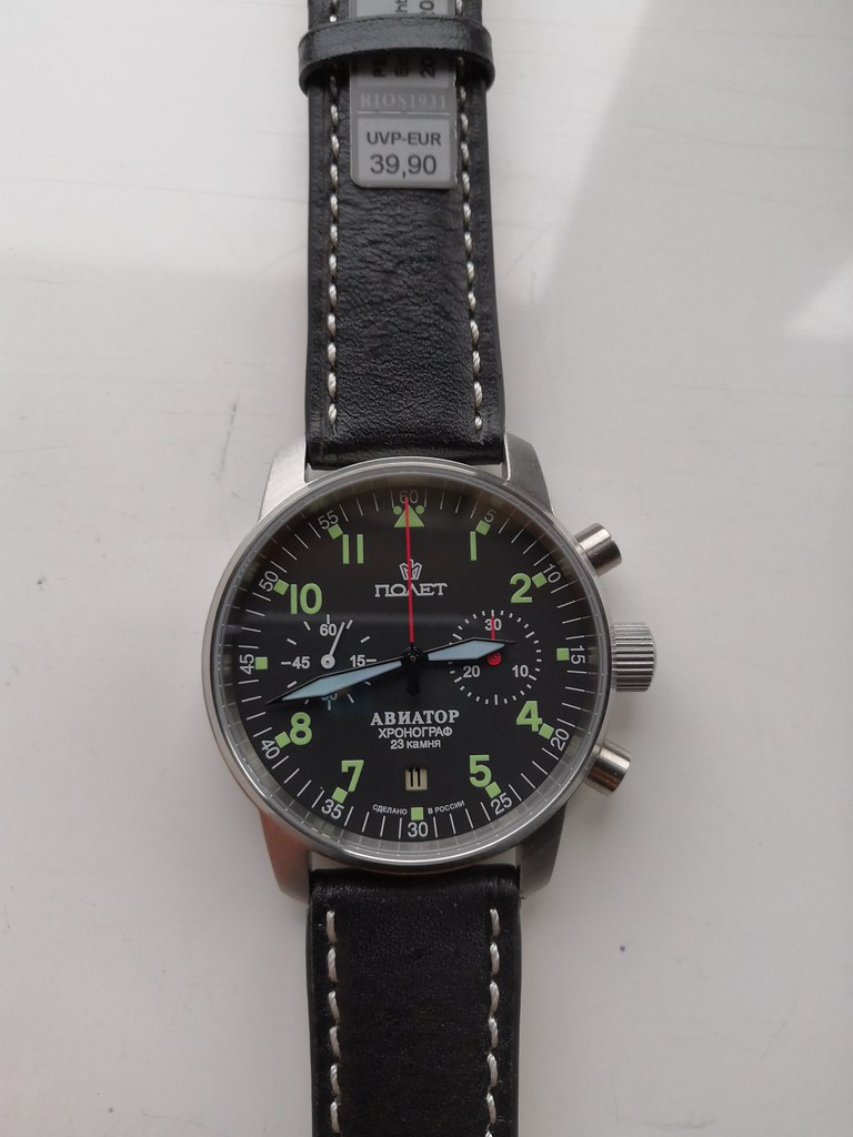 40mm Poljot Aviator I Chronograph (Cal Poljot 3133) (1)