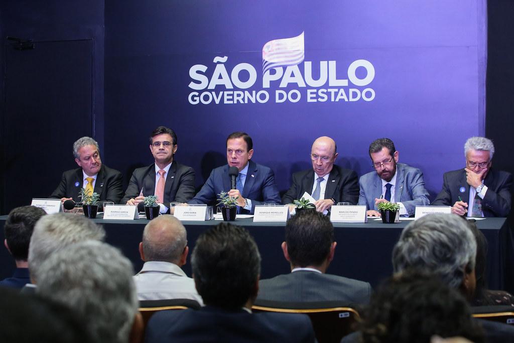 Coletiva de imprensa sobre novo Rio Pinheiros