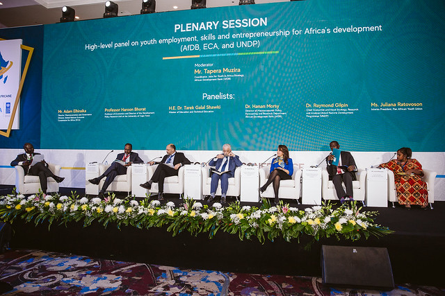 AEC 2019 : Plenary session 1: High-level panel on youth employment, skills and entrepreneurship for Africa's development (AFDB, ECA, and UNDP)