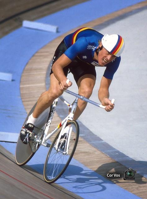 Eric Vanderaerden Barcelona 1984