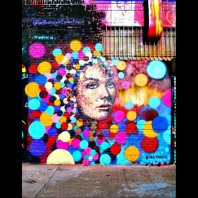 part of the bushwick collective. artist: AKAJIMMYC