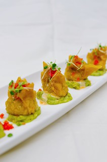 Spicy Tuna Gyoza