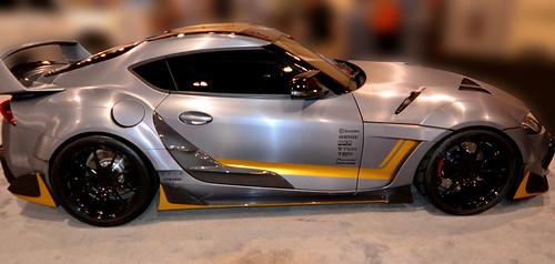 2020 Toyota Supra Spin Greedy Sports Car DSC_0097 2019 PHX New Car Show Photo