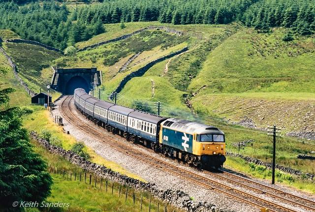 870714 47424 Blea Moor tunnel north 4 Jul 1987 Keith Sanders