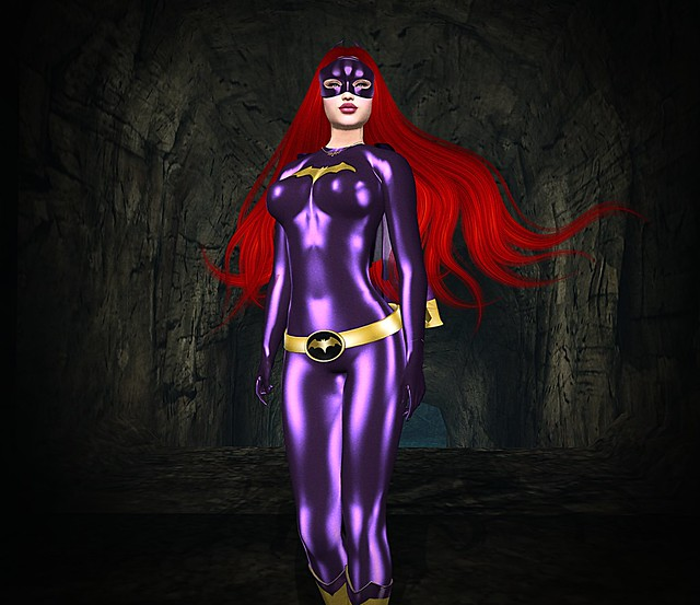 Babs In The Batcave