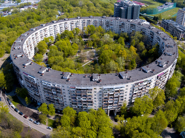 Round house in Moscow.