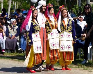 Dancers, Gelemis, Turkey