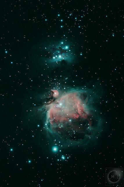 Orion's Sword + M42 The Orion Nebula - 01/12/19