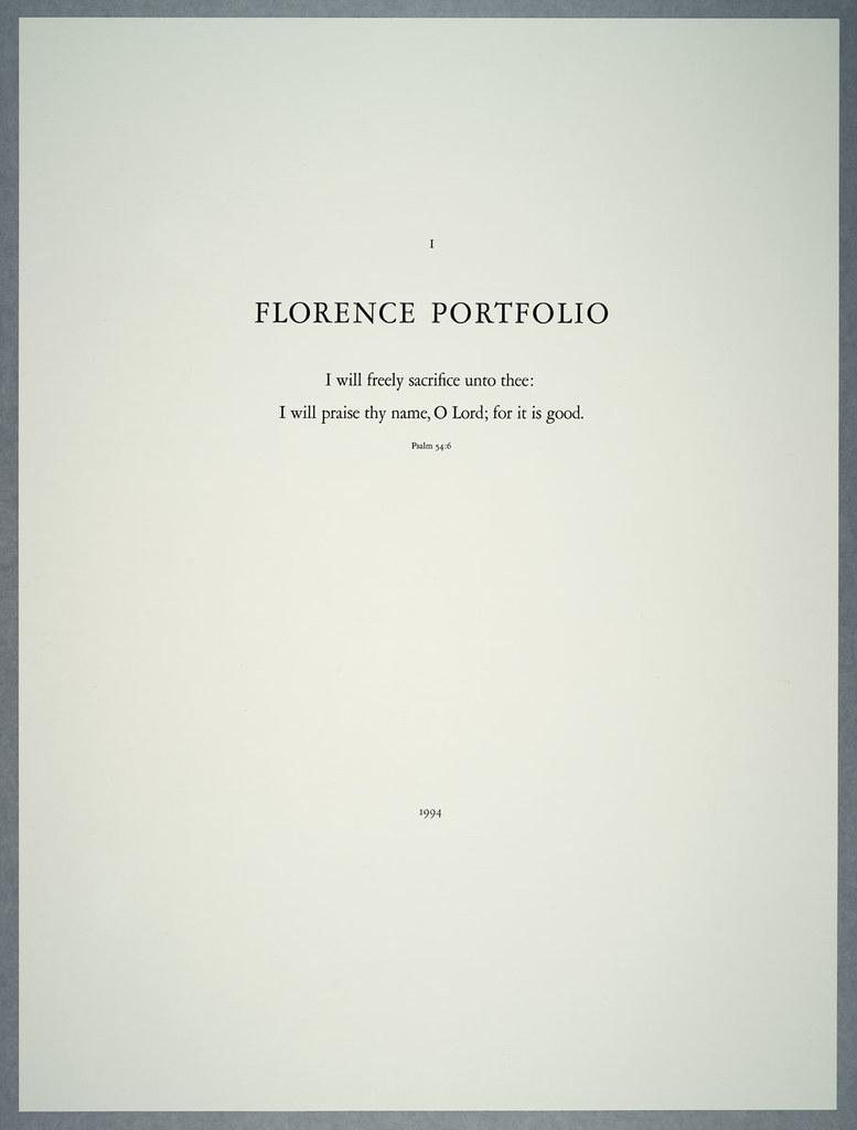 florenceportf