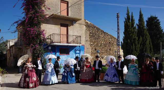 Ballo in costumi d'epoca a Borgo Parrini