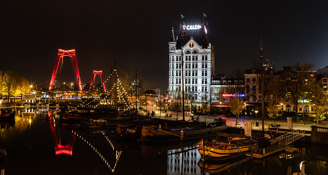 The Old Port of Rotterdam ...