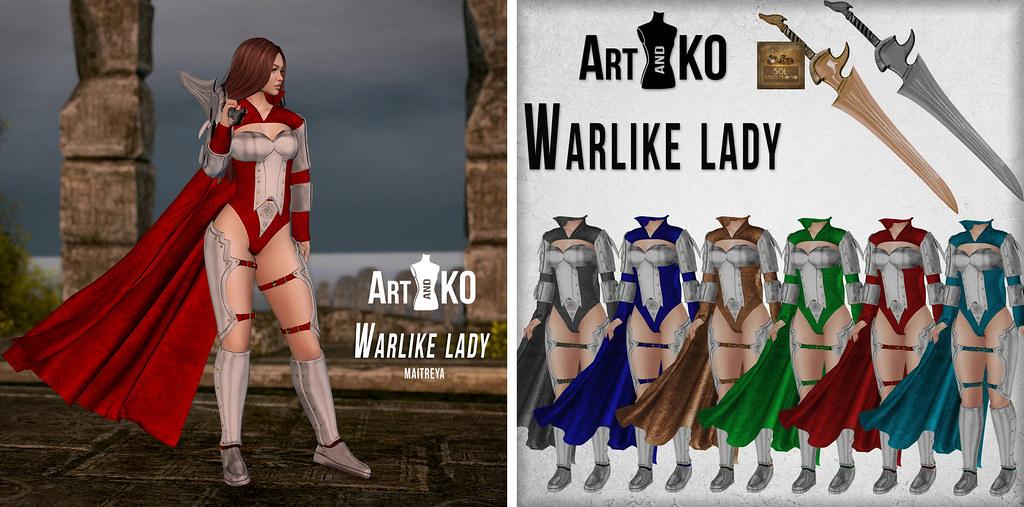 Art&Ko – Warlike lady-