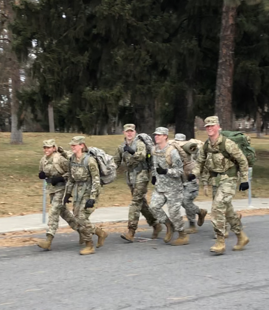 EWU ROTC Turkey Trot 2019 Picture