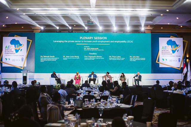 AEC 2019 : Plenary Session 3: Leveraging the private sector to increase youth employment and employability (ECA)