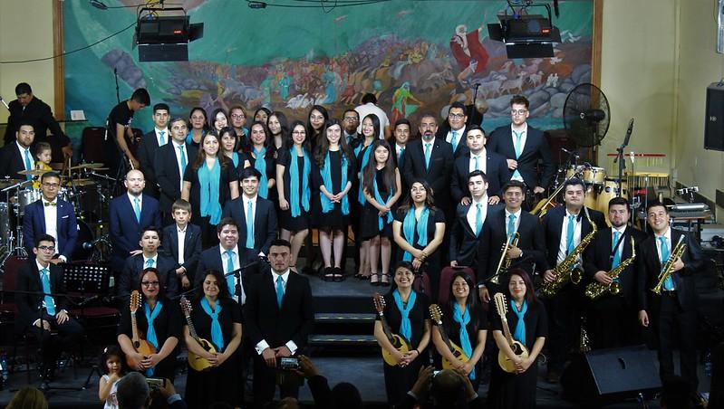 Concierto Coro Centenario en Iglesia de Pudahuel
