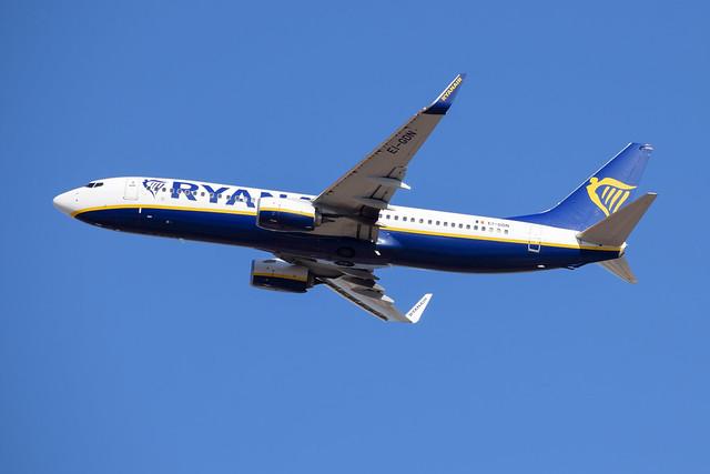 Ryanair B738, EI-GDN, TLV-PFO
