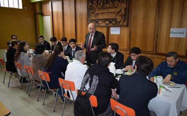 Consejo de Coordinación ofrece desayuno a los recién Confirmados