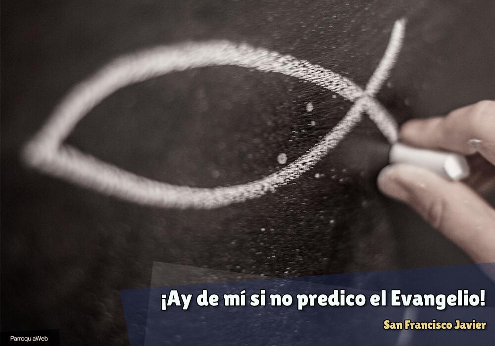 ¡Ay de mí si no predico el Evangelio! - San Francisco Javier