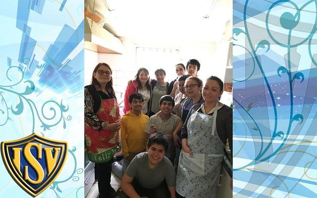 8° básicos colaboran en Comedores Solidarios