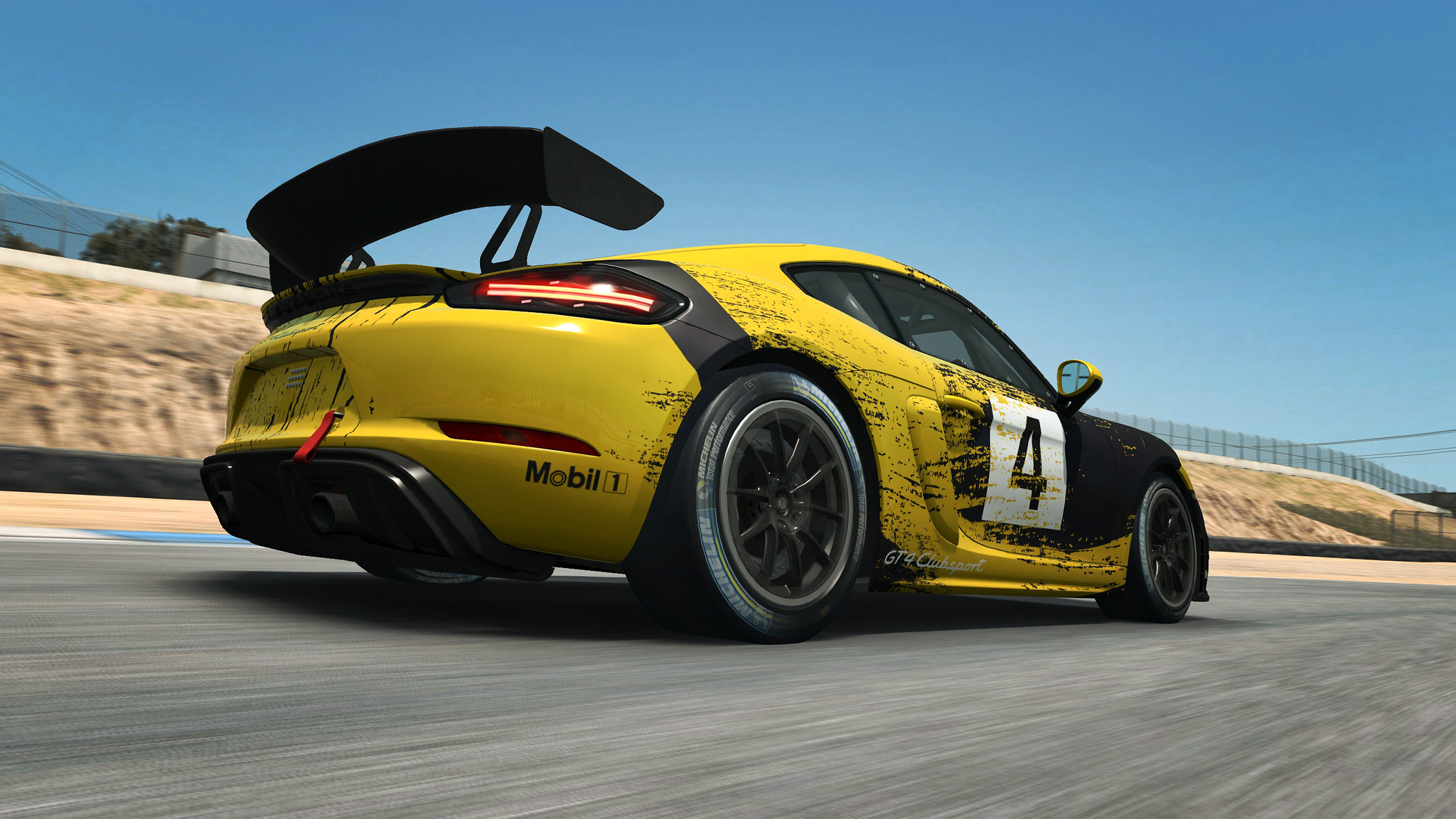 RaceRoom Porsche GT4 2