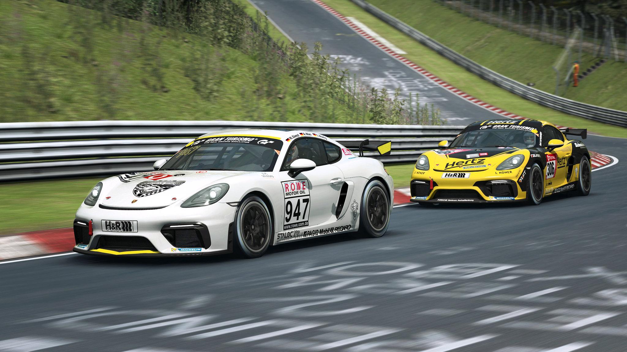 RaceRoom Porsche GT4 5