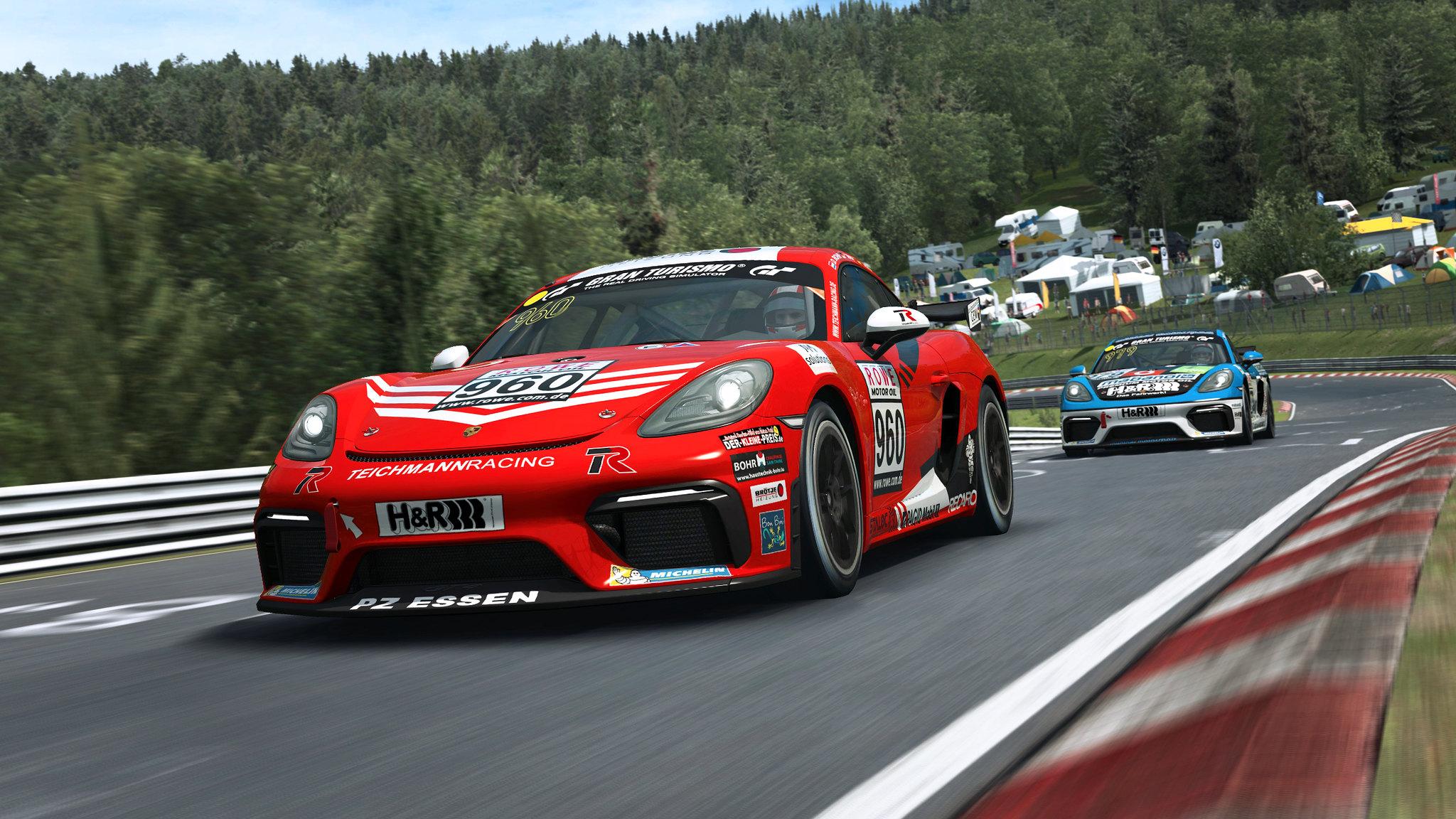 RaceRoom Porsche GT4 3