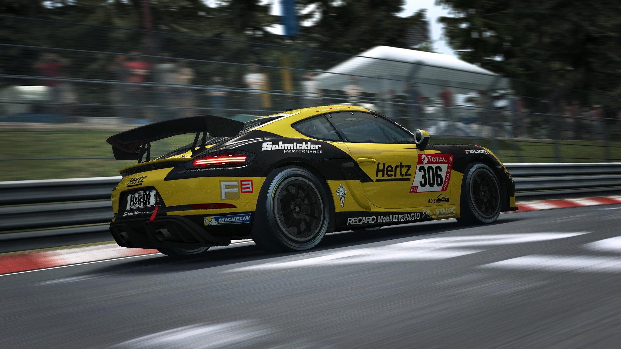 RaceRoom Porsche GT4 6