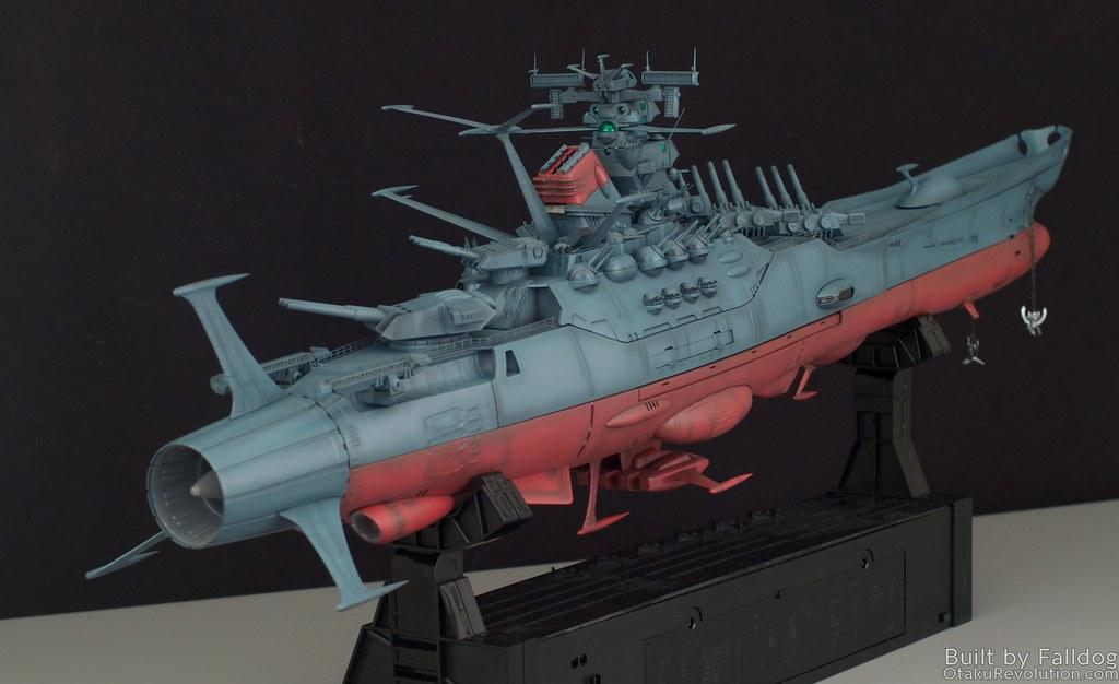 1/350 Space Battleship Yamato WIP