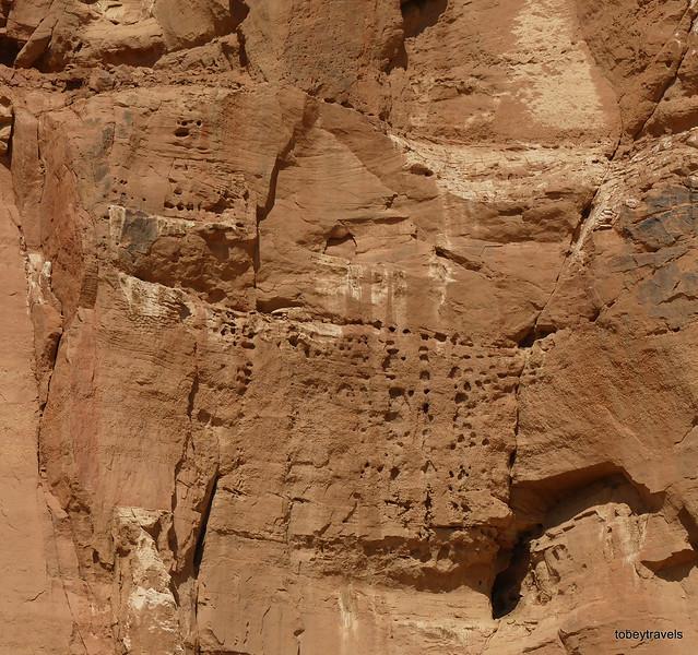 05 Temple of Amun (B500), Cliff Inscription, Jebel (Gebel) Barkal (4)
