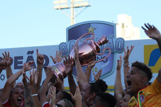 Internacional 4 x 2 Grêmio - Final do Campeonato Gaúcho Feminino 2019
