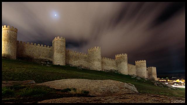 Cielos de invierno #Ávila