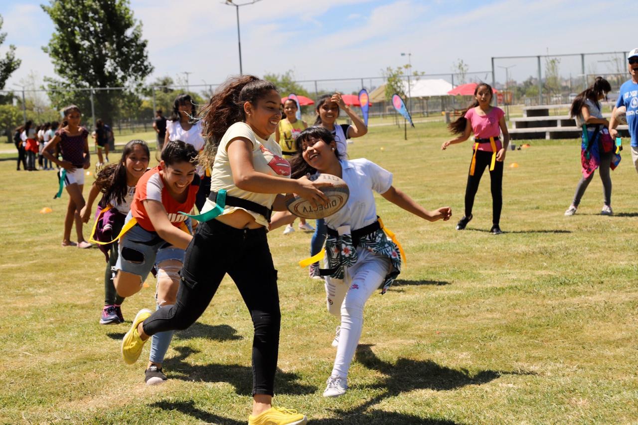 Probá Rugby en Parque Indoamericano