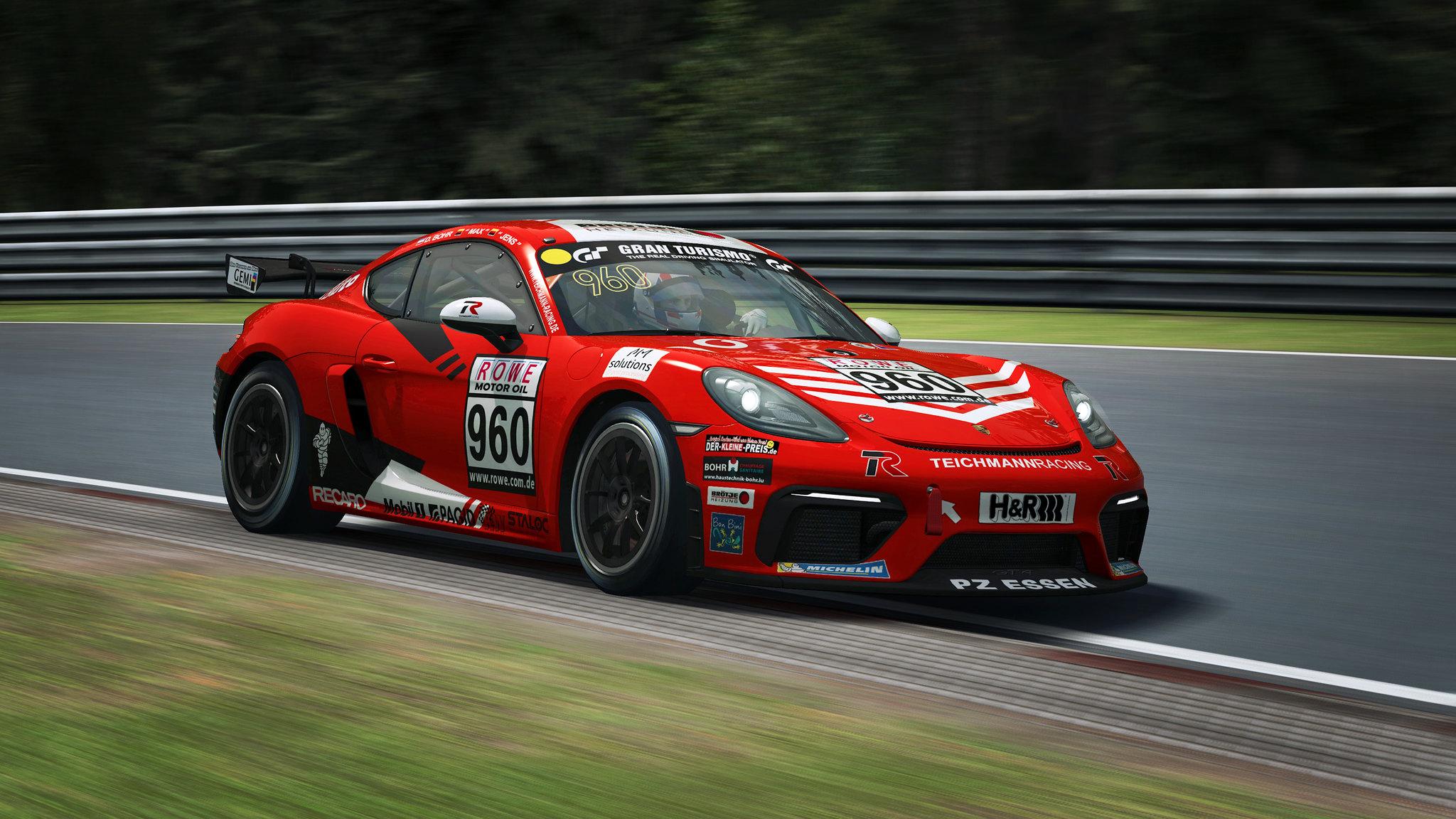 RaceRoom Porsche GT4 7