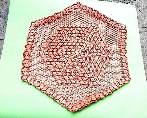 "1 Teselado ""Menger Sponge Tessellation-level 2"" diseñado por Alessandro Beber ..."