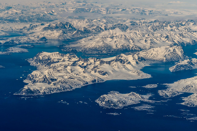 Approaching the artic land