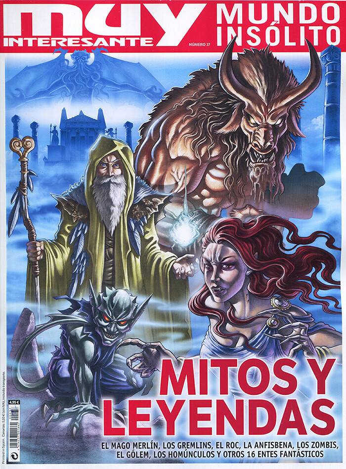 Muy Interesante cover illustration
