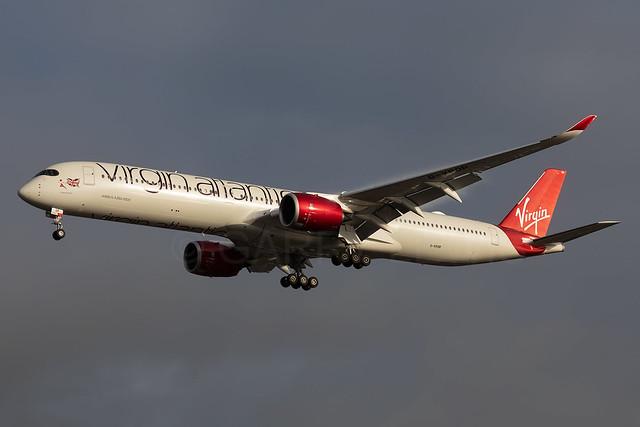 Virgin Atlantic Airbus A350-1000 G-VPOP [LHR]