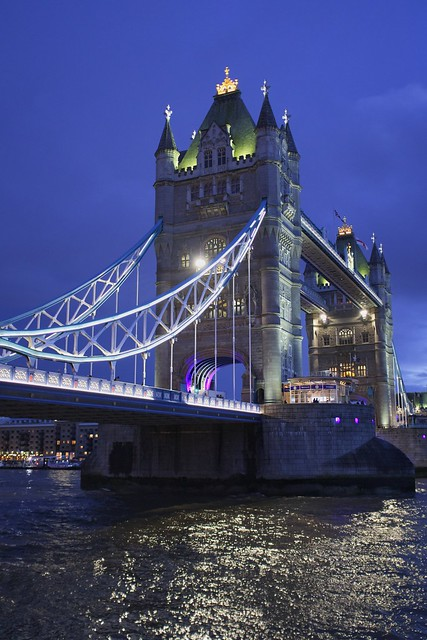 Towering Tower Bridge …