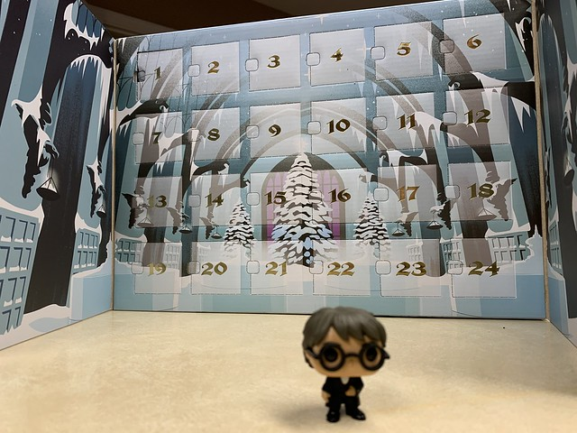 2019 335/365 12/01/2019 SUNDAY - Harry Potter Advent Calendar