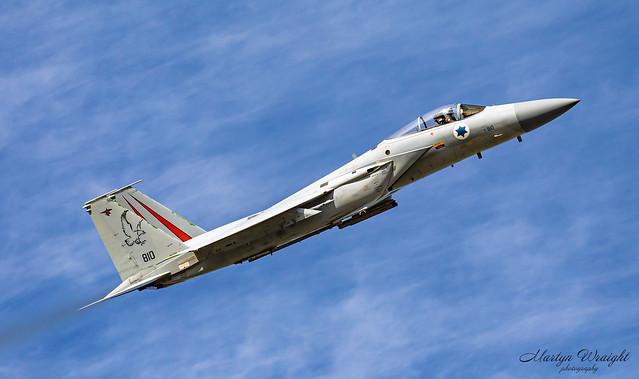 Israeli Air Force F15C Eagle