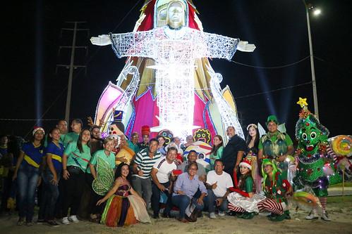 02.12.2019 Natal do Abraço - Inauguração da Árvore na zona leste
